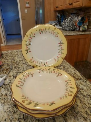 Better Homes And Gardens Tuscan Retreat Dinner Plates Set Of 4