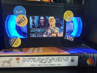 Retro Vhs Lamp,  Masters Of The Universe,  Top Quality Gift.