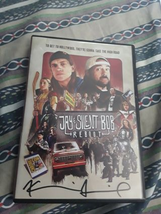 Jay & Silent Bob Reboot Dvd Signed By Kevin Smith Bas