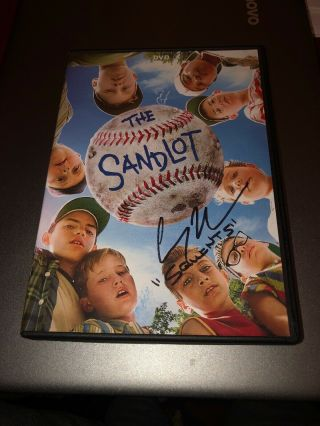The Sandlot Dvd Autographed By Squints (chauncey Leopardi)