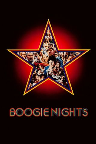 """ Boogie Nights "".  Mark Wahlburg Heather Graham Classic Movie Poster Various Sizes"