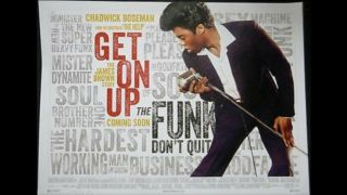 Get On Up Chadwick Bozeman James Brown Uk Quad Movie Poster Cond