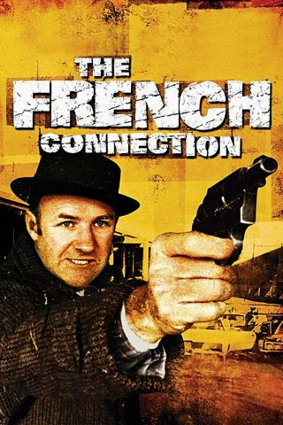 """"""" The French Connection """".  Gene Hackman.  Classic Movie Poster.  Various Sizes"""