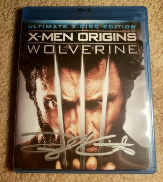 Taylor Kitsch Gambit Signed / Autographed X - Men Origins Wolverine Blu - Ray Cover