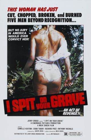 """"""" I Spit On Your Grave 1978 """".  Camille Keaton.  Classic Movie Poster Various Sizes"""