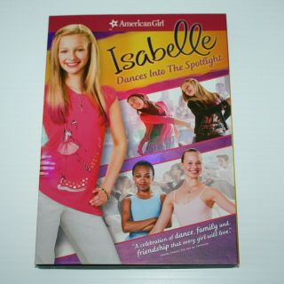 American Girl Of Year 2014 Isabelle Palmer Dances Into The Spotlight Dvd Movie