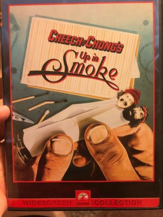 Cheech Marin Signed Autographed Joint Cheech And Chong Up In Smoke Dvd Cover