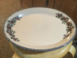 """Home And Garden Party.  Apples.  13"""" X 11"""" Serving Platter."""