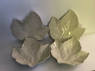 Better Homes And Gardens Maple Leaf Salad Plates Set Of 4