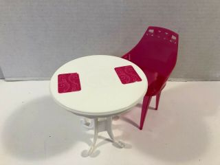 Barbie Outdoor Patio Table & Chair