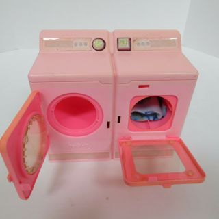 1990 Barbie Sweet Roses Washer & Dryer