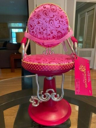American Girl Doll Salon Chair,  Gently But Looks Totally