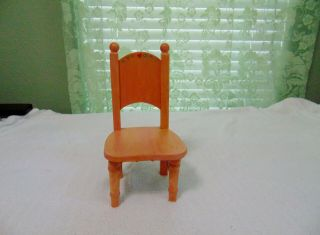 Little Wood Painted Chair For 10 To 12 Inch Doll Priced At Just $6.  00 Look