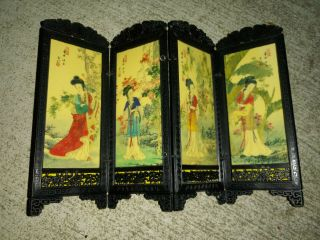 Dollhouse Miniature Japanese Chinese Asian Plastic Room Divider Panel