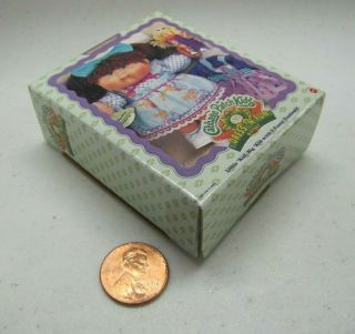 Mattel Barbie Kelly Tommy Friends Cabbage Patch Kids Box Gift For Doll Dollhouse