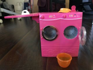 Barbie Spin To Washer & Dryer W/ Iron And Basket