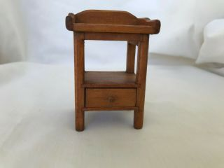 Dollhouse Miniature Toncoss Sturbridge Nightstand With Drawer 1:12