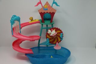 Barbie Doll Puppy Waterpark Playset With Pool