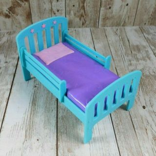 2019 Barbie Mattel Kelly Purple Teal Bed Replacement Accessory Furniture