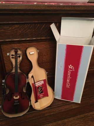 American Girl Doll Cello - Opened But Never Played With - Retired 2014