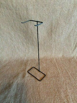 Wire Stand For Barbie Doll - Black Metal -