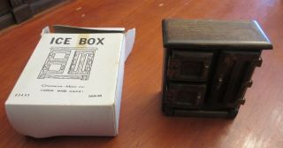 """Chadwick Miller Miniature Doll Accessories """" Ice Box """" - With Box"""