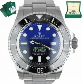 Dec 2019 Rolex Sea - Dweller Deepsea James Cameron Blue Black 44mm 126660