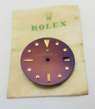 Incredibly Rare Dial Rolex Submariner 1680 Tropicalized Nipple Pink 100