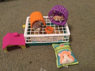 """My Life As Small Pet Play Set Hamster Toy For 18"""" Dolls"""