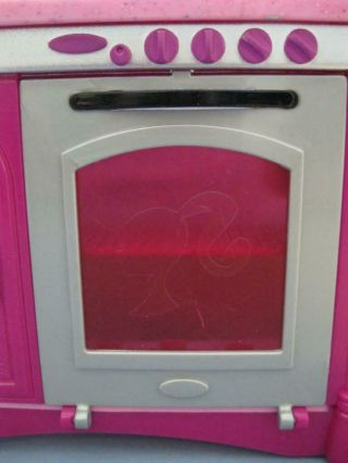 2008 Barbie Doll Glam Glamour Dreamhouse Kitchen Replacement Part Oven Door Only