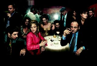 The Sopranos Canvas Wall Art,  Color Hi - Resolution Giclee Printing,  Made In Usa