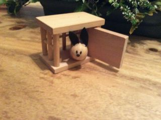 Elc Early Learning Centre Wooden Dolls House Rabbit Hutch Cage Pet