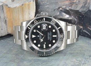 2020 - Rolex Submariner 116610ln Black Date Dial W/ Boxes,  Papers,  Booklets