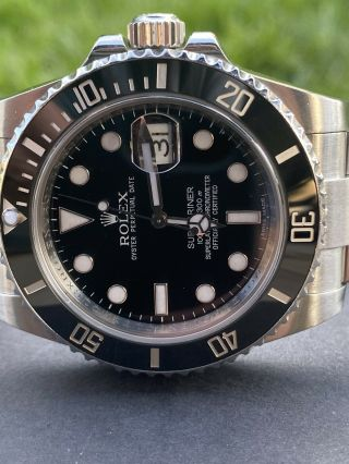 Rolex Submariner 116610ln Black Dial Stainless Steel Automatic Men