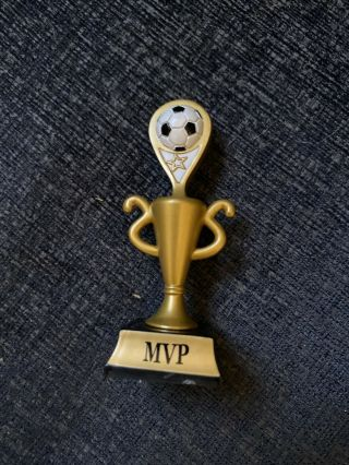 American Girl Sports Mvp Trophy From 2009 Soccer Star Outfit