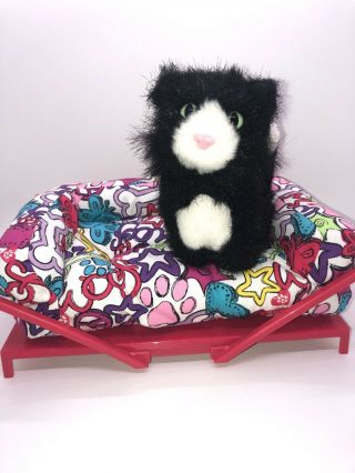 American Girl Doll Pet Bed And Pet