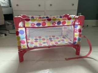 Collapsible Baby Doll Crib