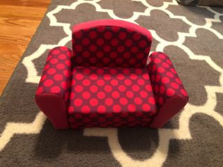 """Chair For American Girl Dolls Or 18 """" Dolls That Unfolds Into A Bed"""