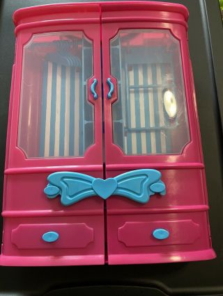 Clothes Closet For Barbie Doll And Same Size Fashion Doll Friends