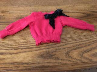 American Girl Doll Sparkle Bow Sweater Euc Adult Collector 234 For Kaye Only