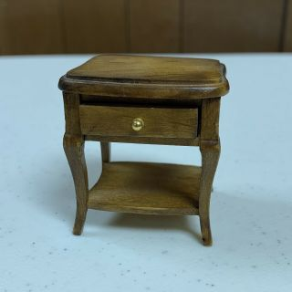 1:12 Dollhouse Miniature Living Room Furniture Side End Table Or Night Stand