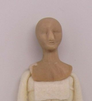 Dollhouse Miniatures,  Doll Body Unfinished,  1/12 Scale