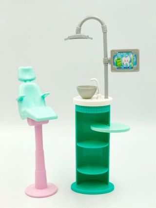 Barbie Replacement Dental Playset Sanitized
