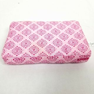 American Girl Dog Bed Cushion Pink Damask Replacement 8.  5x6