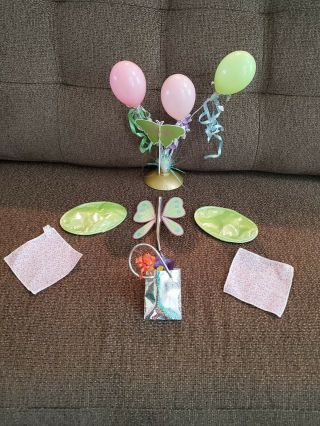 American Girl Doll Happy Birthday Celebrate Party Set With Balloons Decorations