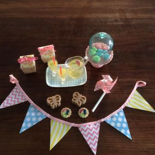 Garden Party Accessory Set For American Girl / Generation 18 Inch Doll