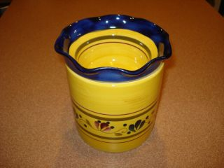 Rare Discontinued Home And Garden Party Welcome Home Dip Cooler Bowl -