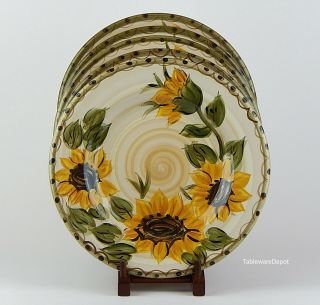 "Whole Home Provencial Garden: (11 1/4 "") Dinner Plate (s)"