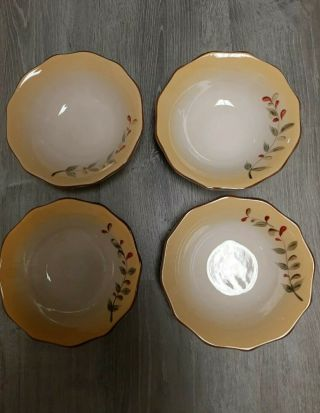 Set Of 4 - Better Homes And Gardens Tuscan Retreat Soup / Cereal Bowls