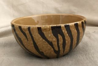 Dario Farrucci Designs Hand Painted & Crafted Animal Print Bowl